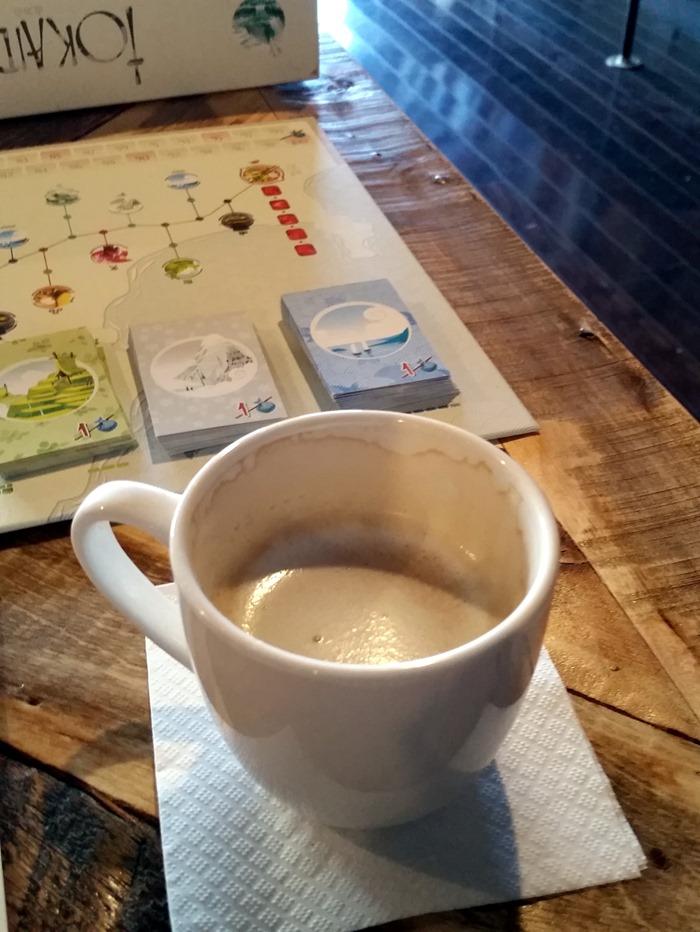 coffee and takaido
