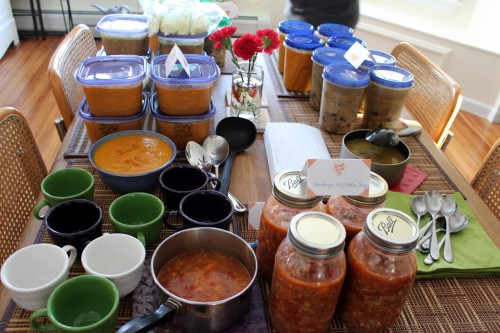 Hosting a Soup Swap: First Time Experiences and Tips