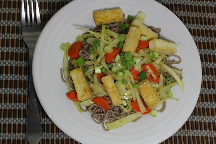 Asian Noodles with Tofu 2