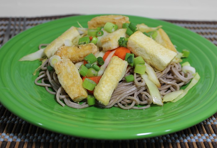 Asian Noodles with Tofu