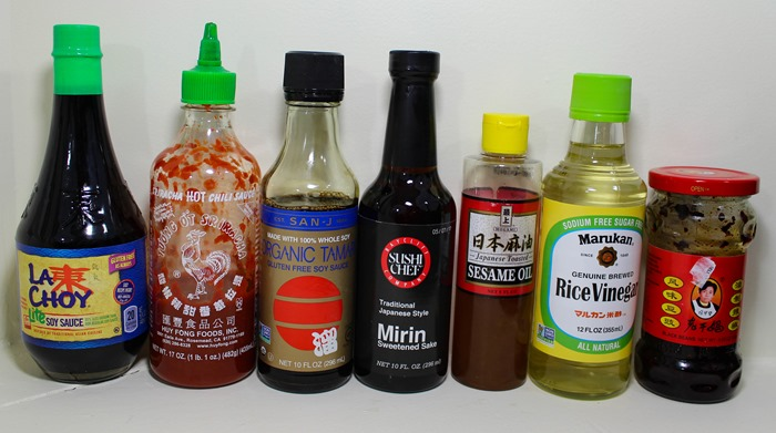 Potential Asian Sauce Ingredients