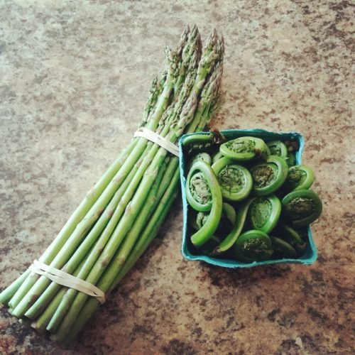 Highlights: Recipes for Spring–Asparagus, Ramps, Peas and More