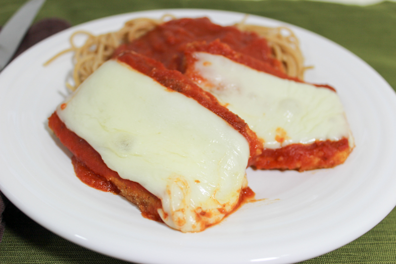 tofu parmesan serving 2
