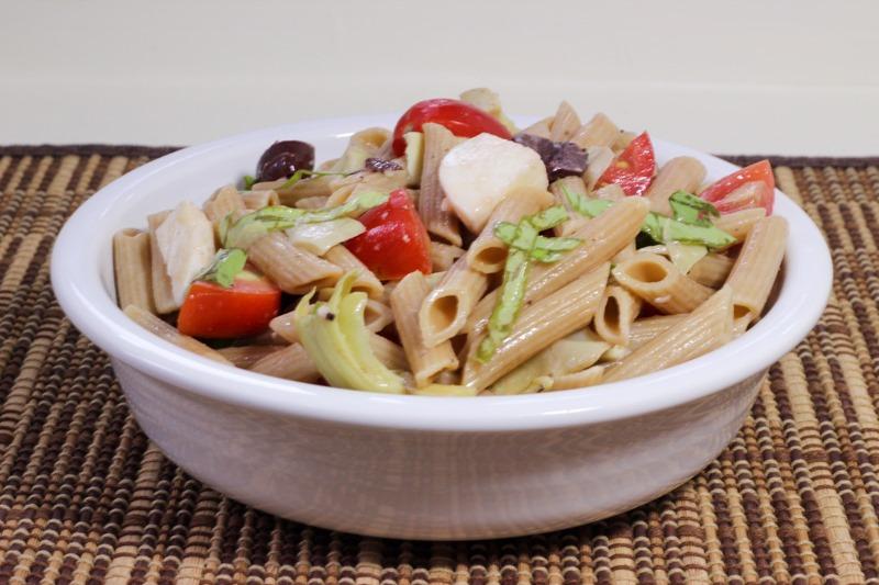 Cold Vegetarian Italian Pasta Salad-2