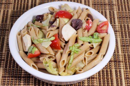 Cold Vegetarian Italian Pasta Salad