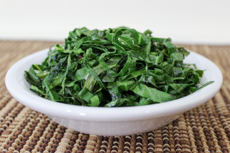 quick sauteed collard greens-2