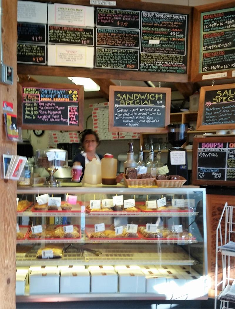 Bread Euphoria ordering counter