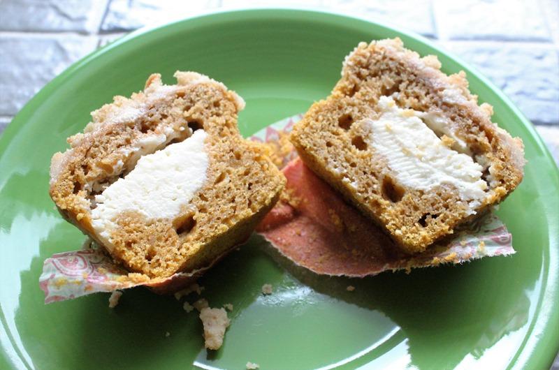 Pumpkin Inside-Out Muffin (3)