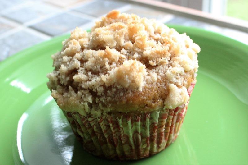 Pumpkin Inside-Out Muffin