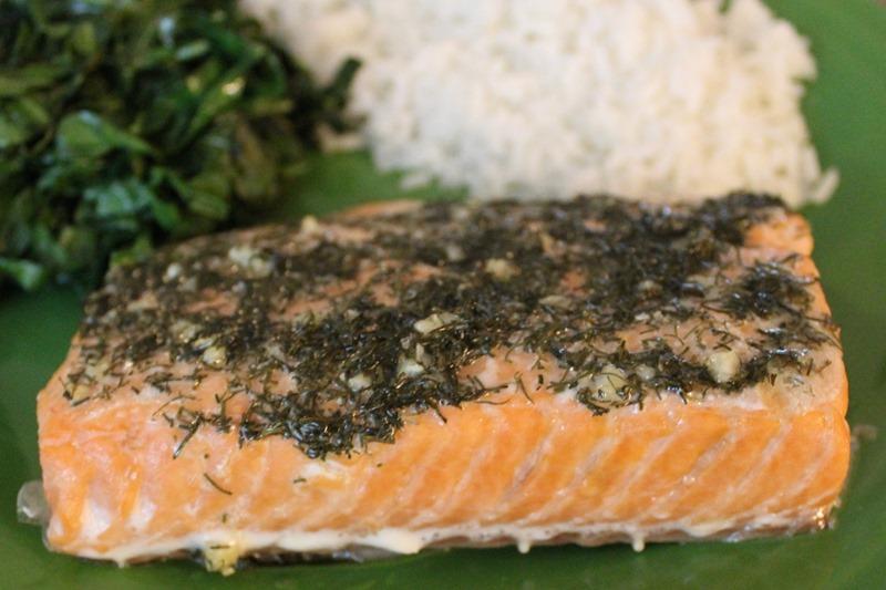 dill and garlic salmon 3