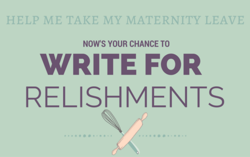 Help Me Out & See Your Writing on Relishments!