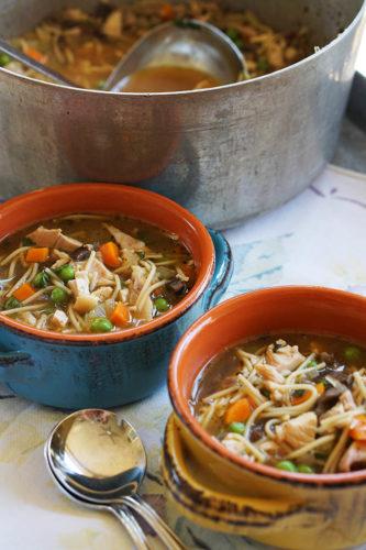 20 Minute Chicken Noodle Soup {Guest Post}