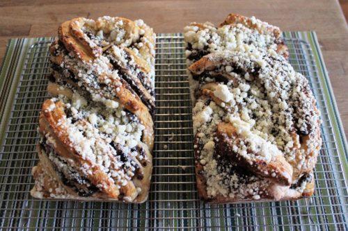 April's King Arthur Flour #Bakealong: Chocolate Babka