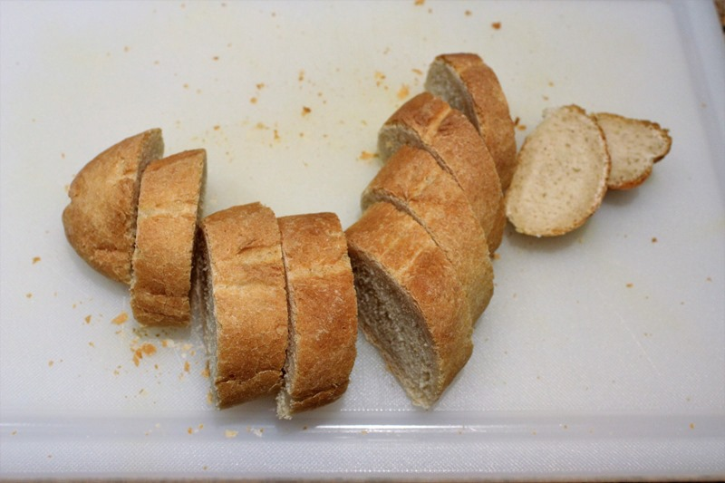 sliced baguette 2