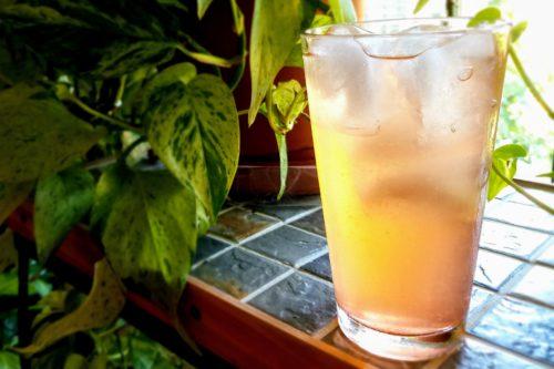 lemonade and shrub