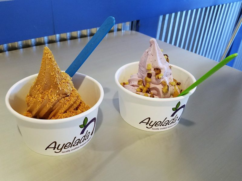 Stay Cool at Ayelada Frozen Yogurt in Pittsfield