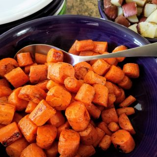 roasted dill carrots