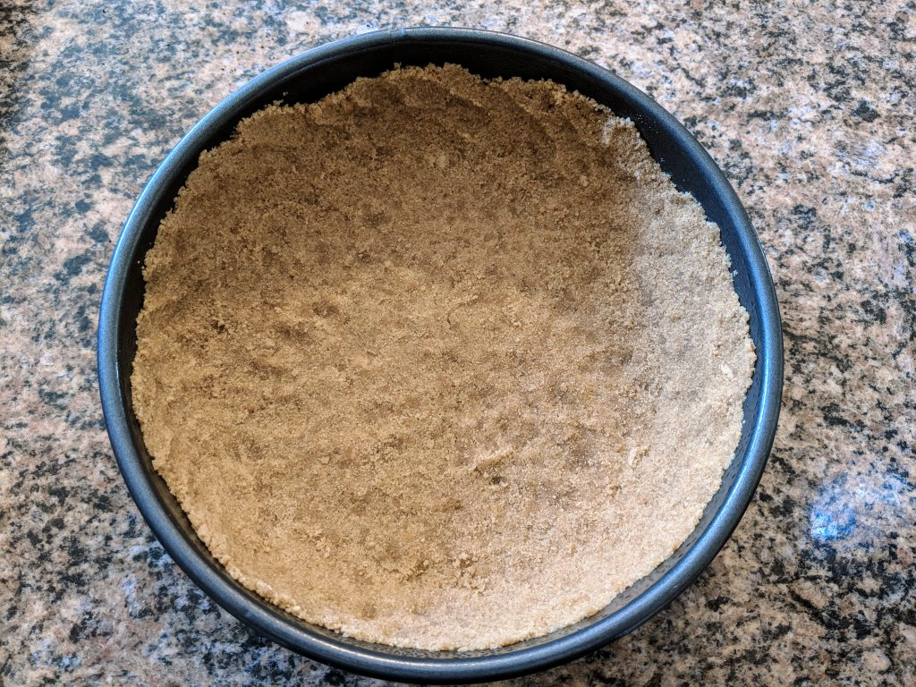 graham cracker crust for cheesecake